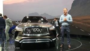 نگاهی به خودروی جدید اینفینیتی QX۵۰ در نمایشگاه دترویت ۲۰۱۷
