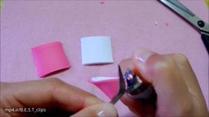 نحوه ساخت گل سر دست ساز