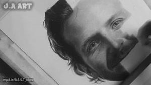 تایم لپس نقاشی بردلی کوپر