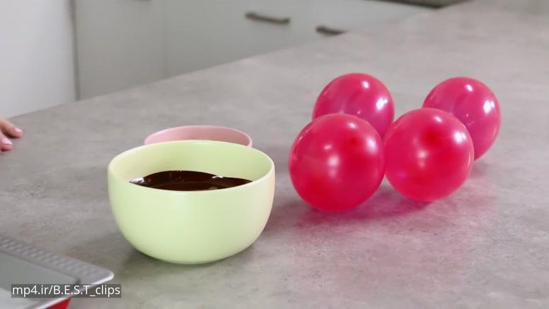 طرز تهیه دسر شکلات - کاپ کیک