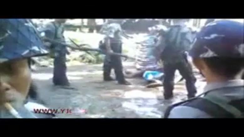 فیلمی که نشان دهنده آزار و اذیت مسلمانان میانمار است