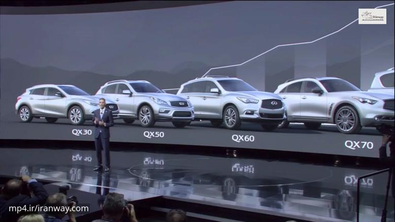 Roland Krueger مدیرعاملINFINITI خودروی جدید رامعرفی کرد