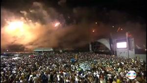 آتش بازی تحویل سال ۲۰۱۷ میلادی - ریو برزیل