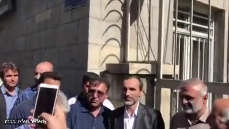 حاشیه های عجیب دادگاه حمید بقایی، معاون دولت محمود احمدی نژاد با شکلات آمد و گفت صداوسیما بیطرفه؟