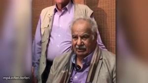 پیام ناصر ملک مطیعی برای هوادارانش بعد از بهبودی کامل در حضور پوری بنایی