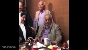 واکنش ناصر ملک مطيعي به خبر فوتش😎😎😎😎😎