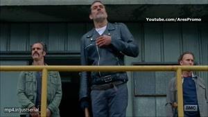 سکانسی از قسمت اول فصل هشتم سریال مردگان متحرک