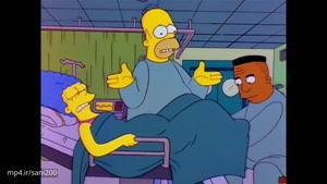 سیمپسون ها-سکانس به دنیا آمدن مگی