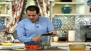 پاستا با بروکلی و سس گوجه روش آسان در منزل