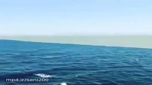 نقطه برخورد دو اقیانوس اطلس و آرام بین دو کشور شیلی و آرژانتین