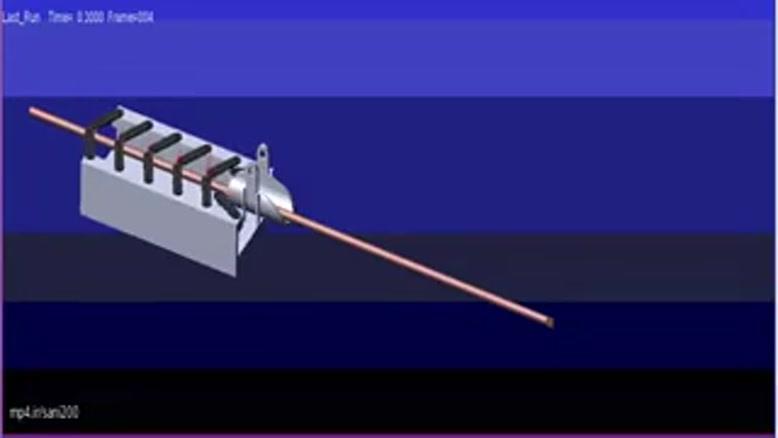 شبیه سازی حرکت ربات