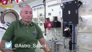 بازی با اسپینر در فضا؛ سرگرمی جدید فضانوردان