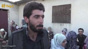 اولین مراسم عروسی که بعد از رفتن داعش از رقه در این شهر برگزار شد