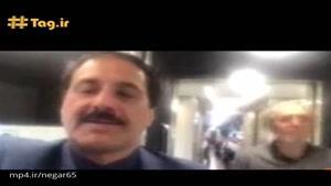 حمید معصومی نژاد خبرنگار اعزامی به رم ، دستگیر شد