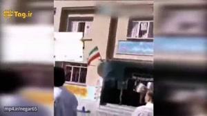 حمله مردم به مدرسه دخترانه منطقه اسلام آباد ارومیه