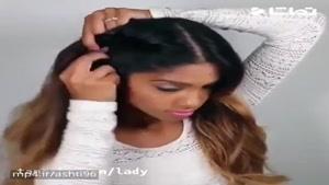 آموزش یک مدل موی جالب و جدید را با دیدن این ویدئو یاد بگیرید