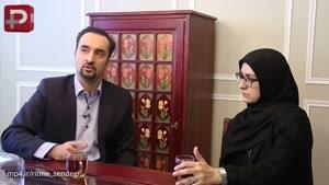 خبرسازترین زن و شوهر تلویزیون ایران از به آغوش کشیدن یکدیگر روی آنتن زنده گفتند