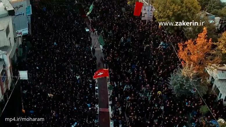 حاج محمود کریمی - شب تاسوعا ۱۳۹۶ من به فدات و ترک روی لبات