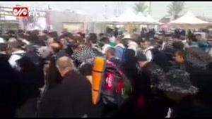 تردد و حضور پر تعداد زائران در مرز مهران