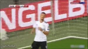 بازی آلمان ۵ - آذربایجان ۱