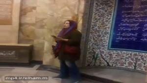 آوازخوانى بانوى ايرانى در آرامگاه سعدي / اى كاش محدوديت در كشور نبود/ اى كاش اين استعدادها كشف شوند