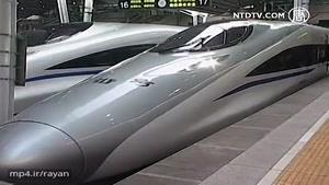 چین طولانیترین خط راه آهن سریع السیر جهان را افتتاح کرد