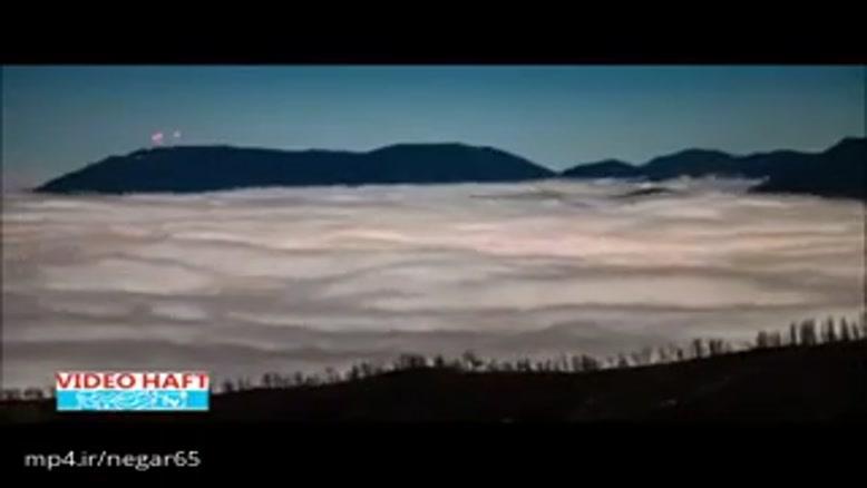 برای چند لحظه در اقیانوس ابری کلرادو غرق شوید!