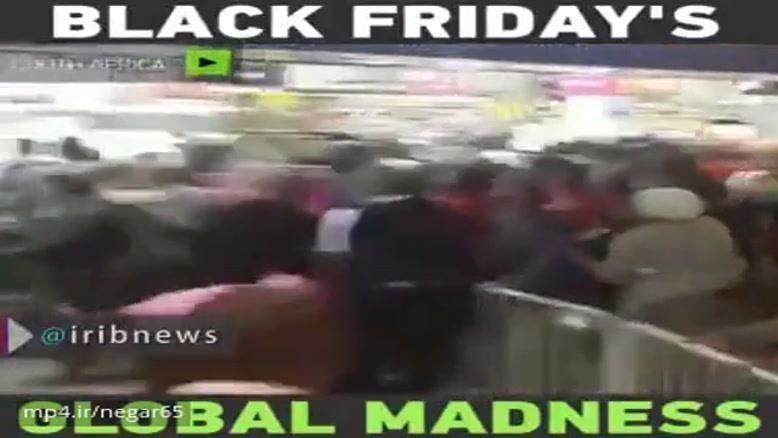 """هجوم برای خرید در """"جمعه سیاه"""" آمریکا!"""