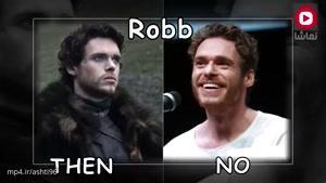 """بازیگران سریال """" Game Of Thrones """" قبل و بعد از بازی"""