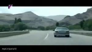 فرار راننده پرشیا از کنترل نامحسوس و پلیس با سرعت وحشتناک در جاده ی پرپیچ و خم