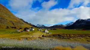 فوق العاده زیبا از طبیعت نوروی Norway -فیلم برداری هوایی