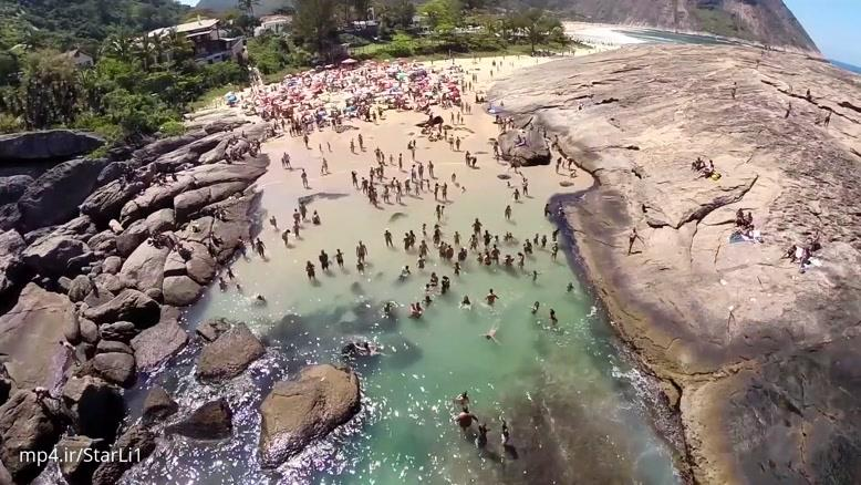 فیلم برداری هوایی از شهر زیبای ریو