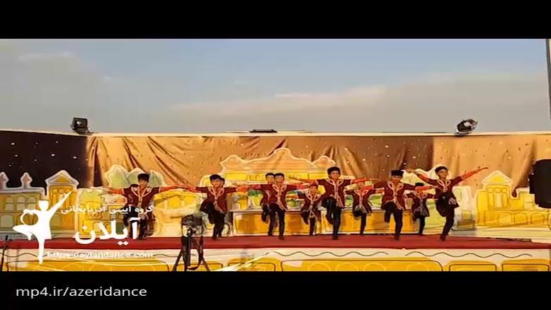 رقص آذری در بوستان آب و آتش تهران