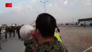 کنترل ویزا و گذرنامه در مسیر پایانه مرزی مهران