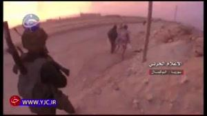 جنازههای داعشی زیر پای نیروهای مقاومت