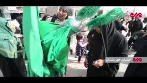 تردد روان زائران در مرز شلمچه