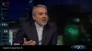 مجری خطاب به سخنگوی دولت: چرا میخواهید از حقوق من کم کنید، از هزینههای خودتان کم کنید
