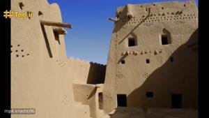 قلعه تاریخی و دیدنی سب در شهرستان سراوان