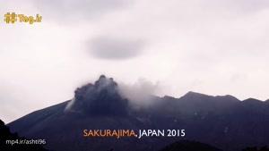 صاعقه در آتشفشان ; پدیدهای شگفتانگیز و بسیار خطرناک