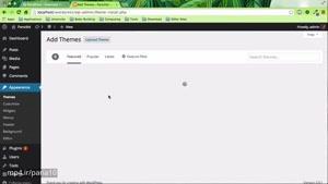 ۴- داشبورد در وردپرس WordPress