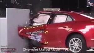 تست ایمنی مطرح ترین خودرو های جهان