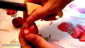 تزیینات میوه و سبزیجات برای سفره آرایی ۶
