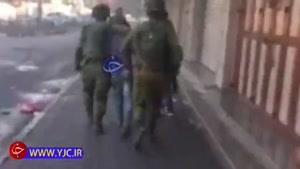 دستگیری نوجوانان فلسطینی توسط نظامیان صهیونیست