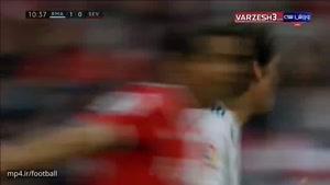 خلاصه بازی رئال مادرید 5 - سویا 0 (دبل رونالدو)