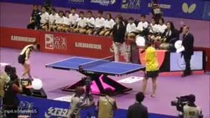 توانایی یک ورزشکار معلول در بازی تنیس روی میز ! معلولیت محدودیت نیست ... ۱۲ آذر روز جهانی معلولین