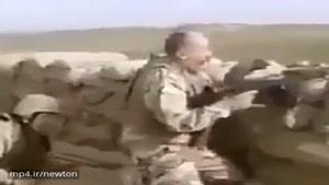 سرباز جان بر ڪَف به این میگن ☝️😄😂