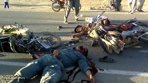 حادثه ترافیکی محمد نسیم جان در شهر چغچران ولایت غور