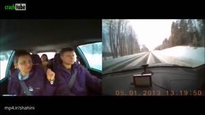 تصاویری از داخل ماشین ها در حین حوادث