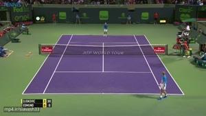 یک حرکت جالب در تنیس