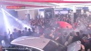رونمایی از بی وای دی اف۳ در نمایشگاه خودرو تهران